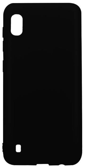 Protectie Spate Lemontti Silky LEMSILSLKA10N pentru Samsung Galaxy A10 (Negru) imagine evomag.ro 2021