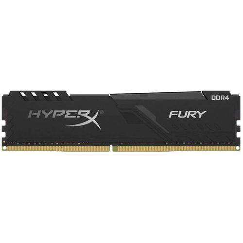 Memorie Kingston HyperX Fury Black, 16GB, DDR4, 2400MHz, CL15