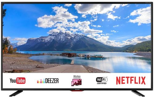 Televizor LED Smart Sharp 125 cm (49inch) LC-49UI7552E, Ultra HD 4K, Smart TV, WiFi, CI+