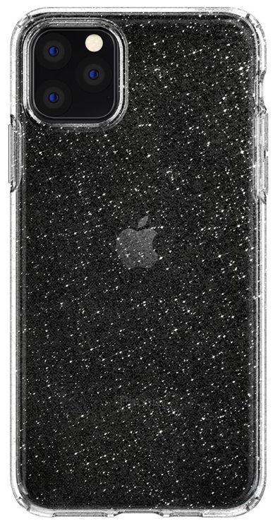 Protectie Spate Spigen Liquid Crystal Glitter 075CS27131 pentru iPhone 11 Pro Max (Transparent)