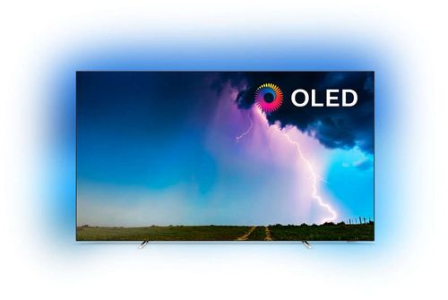 Televizor OLED Philips 165 cm (65inch) 65OLED754/12, Ultra HD 4K, Smart TV, WiFi, CI+