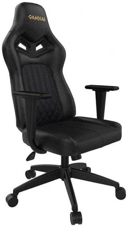 Scaun gaming Gamdias Achilles E3 L, reglabil, RGB (Negru)