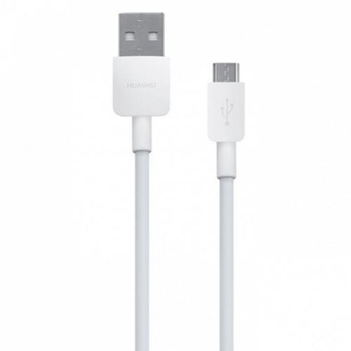 Cablu de date Huawei CP70, Micro USB, 1m (Alb)
