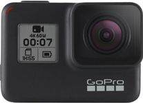 Camera Video de Actiune GoPro HERO7 Black Edition, Filmare 4K, Waterproof, GPS, Wi-Fi (Negru)