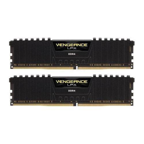 Memorii Corsair Vengeance LPX Black 32GB(2x16GB), DDR4, 3600MHz, CL18, Dual Channel