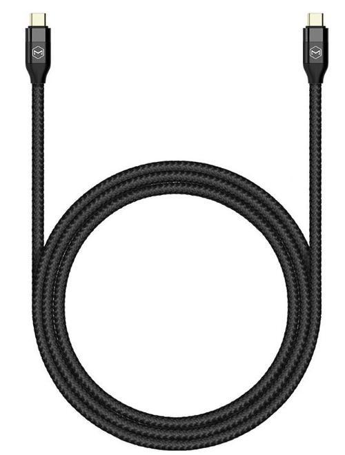 Cablu de date Mcdodo Gen 2 CA-7130, Type-C - Type-C 3.1, 1.5 m, PD, max 100 W, 1000 MB/s (Negru)