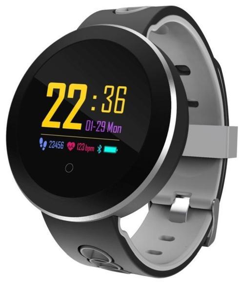 Ceas activity tracker Sovogue SE15S, Bluetooth, OLED 1.22inch (Negru)