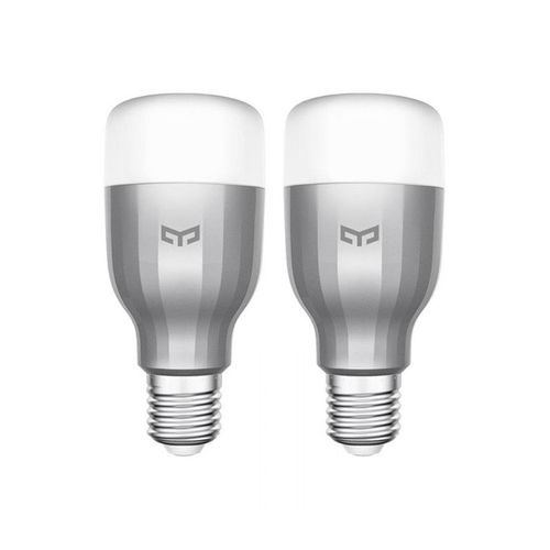 Set 2 becuri Xiaomi Mi Smart Light Bulb IPL, 10W, Wi-Fi, 800 lumeni imagine