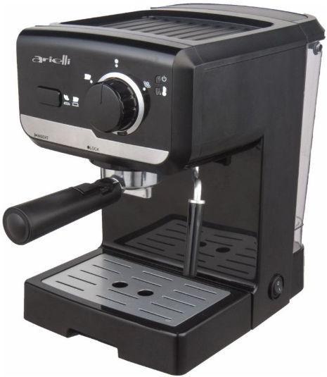 Espressor ARIELLI KM-500 BS, 1050W, 1.25 l, 15 Bar (Negru)
