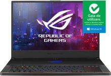 """Laptop Gaming Asus ROG Zephyrus S GX701GWR-HG118T (Procesor Intel® Core™ i7-9750H (12M Cache, up to 4.50 GHz), Coffee Lake, 17.3"""" FHD, 16GB, 1TB SSD, nVidia GeForce RTX 2070 @8GB, Win10 Home, Negru)"""