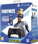 Controller Wireless Sony DualShock 4 v2 pentru PlayStation 4, Fortnite Neo Versa Bundle (Negru)