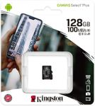 Card de memorie MicroSD Kingston Canvas Select Plus, 128GB, UHS-I, Class 10