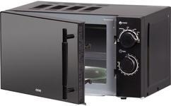 Cuptor cu microunde BBK 20MWS-773M/B-M, 20 L, 700 W, 5 niveluri de putere (Negru)