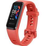 Bratara fitness Huawei Band 4, Bluetooth, Rezistenta la apa 5 ATM (Rosu)