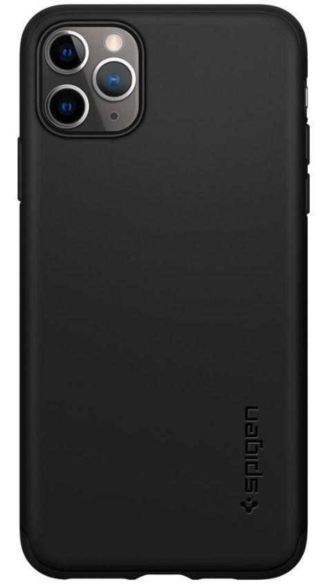 Husa 360 Spigen 075CS27150 pentru iPhone 11 Pro Max (Negru)
