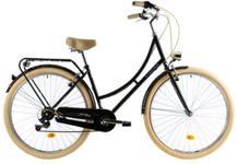 "Bicicleta Oras DHS Citadinne 2834 M, Roti 28"", Cadru M - 480mm (Negru)"