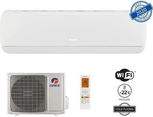 Aer conditionat Gree G-tech GWH09AEC-K6DNA1A, 9000 BTU, Wi-Fi, Inverter, Class A++ (Alb) imagine