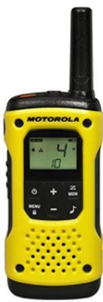 Fotografie Statie Radio Motorola T92 H2O, rezistenta la apa, set cu 2 bucati (Galben)