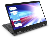 """Laptop 2in1 Dell Latitude 5300 (Procesor Intel® Core™ i5-8265U (6M Cache, up to 3.90 GHz), Whiskey Lake, 13.3"""" FHD, Touch, 8GB, 512GB SSD, Intel® UHD Graphics 620, FPR, Win10 Pro, Negru)"""