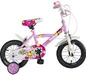 """Bicicleta Veors Rich F1204B, 12"""", pentru copii (Roz)"""