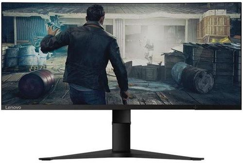 Monitor Gaming VA LED Lenovo 34inch G34W-10, 3440x1440, HDMI, DisplayPort, Ecran Curbat, 4 ms (Negru) imagine