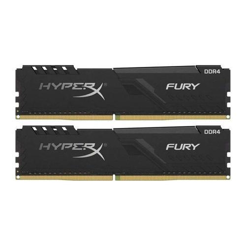 Memorii Kingston HyperX Fury Black 16GB(2x8GB) DDR4 3733MHz CL19 Dual Channel Kit