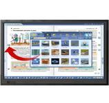 Pachet interactiv Newline 65 RS (Display interactiv Newline TT-6519RS, 4K + suport de perete pentru display + calculator i5 integrat + sistem de operare Windows 10 + Software educational Mozabook Classroom)