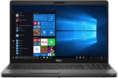 Laptop Dell Latitude 5500 (Procesor Intel® Core™ i5-8365U (6M Cache, up to 4.10 GHz), Whiskey Lake, 15.6inch FHD, 16GB, 512GB SSD, Intel® UHD Graphics 620, FPR, Win10 Pro, Negru)