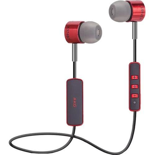 Casti Alergare Wireless Samsung K374BT AKG, Bluetooth, Microfon (Rosu)