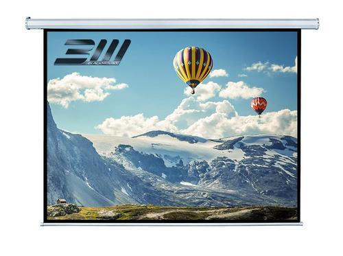 Ecran proiectie electric Blackmount 4/3EL240RC-BM-ECRPER, 240 x 180 cm, 4:3 + telecomanda