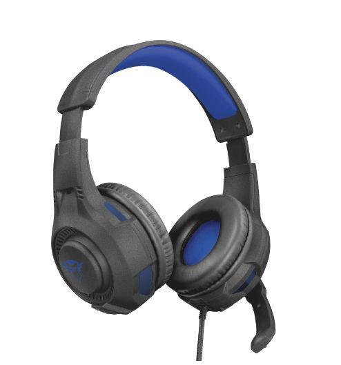 Casti Gaming Trust GXT 307B Ravu PS4, Microfon, Jack 3.5mm (Negru)