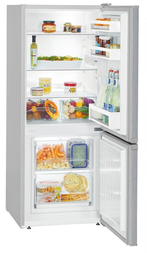 Combina frigorifica Liebherr CU 231, 209 l, SmartFrost, Clasa A++, Finisaj antiamprenta (Inox)
