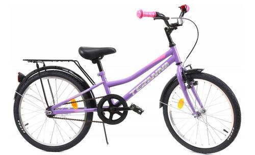 Bicicleta Copii DHS 2002, Cadru 9inch, Roti 20inch (Violet)