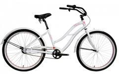 "Bicicleta Oras Devron Urbio LU2.6 White Mist, Cadru M 430mm, Roti 26"" (Alb)"
