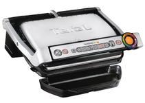 Gratar electric Tefal Optigrill+ Wafles GC716D12, 2000 W, 6 programe, indicator nivel gatire, placi detasabile, accesoriu gofre (Negru/Inox)