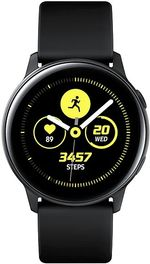 "Fotografie Smartwatch Samsung Galaxy Watch Active, Procesor Dual-Core 1.15GHz, Super AMOLED 1.1"", 750MB RAM, 4GB Flash, Bluetooth, Wi-Fi, Tizen (Negru)"