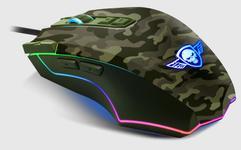 Mouse Gaming Spirit of Gamer Elite-M50 Army, 4000 DPI (Camuflaj)