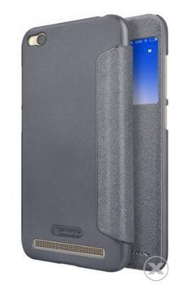 Husa Flip Cover Nillkin SPARKLE S-View Cover pentru Xiaomi Redmi 5A (Negru) imagine evomag.ro 2021