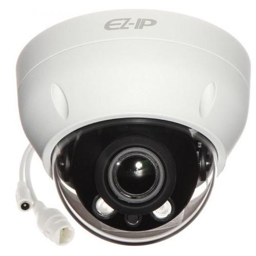 Camera supraveghere video Dahua IPC-D2B20-ZS-2812, dome motorizata, IP, 2MP, IR 30M, IP67, carcasa plastic (Alb)