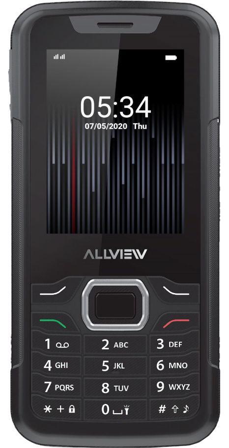 Telefon mobil Allview M10 Jump, Dual SIM, 3G (Negru)