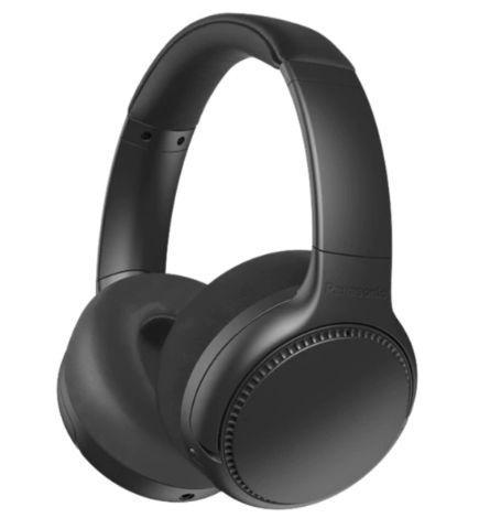 Casti Wireless PANASONIC RB-M700BE-K, Bluetooth, Extra Bass, Noise Cancelling, Bass Reactor, around -ear (Negru) imagine