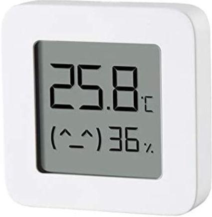 Senzor de temperatura si umiditate Xiaomi Mijia 2, Bluetooth (Alb) imagine