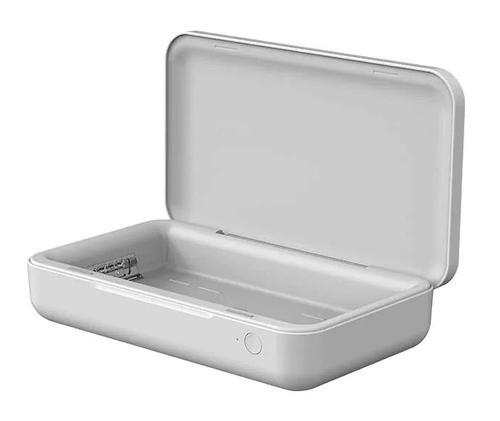 Sterilizator UV SAMSUNG GP-TOU020SABWQ, incarcare wireless telefon 10W, USB Type-C (Alb) imagine