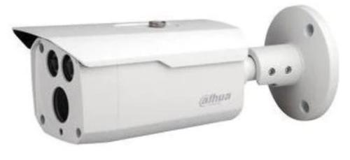 Camera de supraveghere Dahua HAC-HFW1230D-0360B Bullet, HDCVI, 2MP, CMOS 1/2.8, Starlight, 3.6mm, 2 LED, IR 80M, IP67, Carcasa metal (Alb)