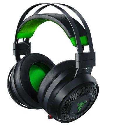 Casti Gaming Wireless Razer Nari Ultimate Xbox One , Microfon (Negru/Verde)