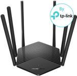 Router Wireless Mercusys MR50G, Gigabit, Dual Band, 1900 Mbps, Control Parental, Mod Access Point, IPv6, 6 Antene externe (Negru)