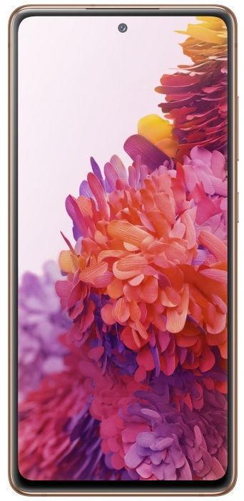 Telefon Mobil Samsung Galaxy S20 FE, Procesor Exynos 990 Octa-Core, Super AMOLED Capacitive Touchscreen 6.5inch, 120Hz refresh rate, 6GB RAM, 128GB Flash, Camera Tripla 12+8+12MP, Wi-Fi, 4G, Dual Sim, Android (Cloud Orange)