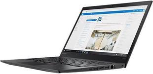 "Laptop Refurbished Lenovo ThinkPad T470s (Procesor Intel® Core™ i7-7600 (4M Cache, up to 3.90 GHz), Kaby Lake, 14"" FHD, 24GB, 512GB SSD, Intel® HD Graphics, Win10 Home, Negru)"