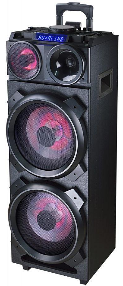 Sistem Audio Akai DJ-3210, Bluetooth, DJ effects, Party light (Negru) imagine evomag.ro 2021