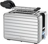 Prajitor de paine Proficook PC-TAZ 1110, 1050 W, 2 felii, suport chifle (Inox)